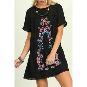 Umgee Embroidered Dress/Tunic